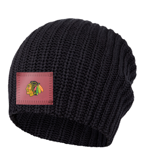 19-20 Chicago Blackhawks love your melon beanie giveaway